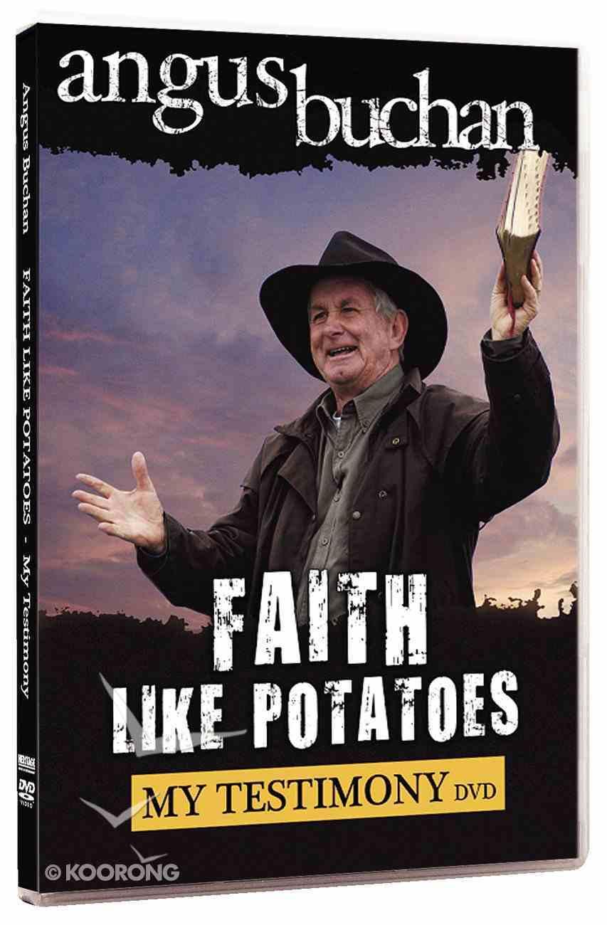 Faith Like Potatoes: My Testimony DVD
