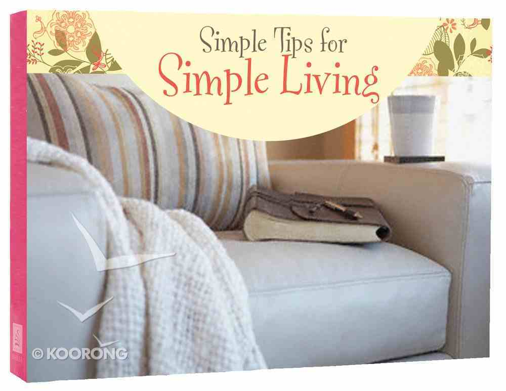 Life's Little Book of Wisdom: Simple Tips For Simple Living Paperback