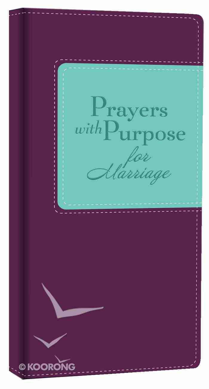 Prayers With Purpose For Marriage Imitation Leather