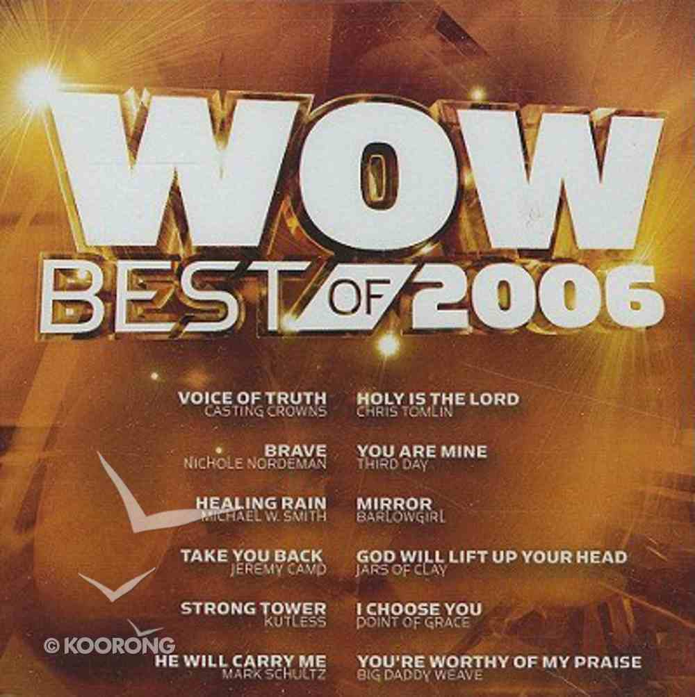 Best of Wow 2006 CD