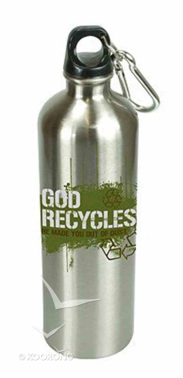 Water Bottle 750ml Stainless Steel: God Recycles Homeware