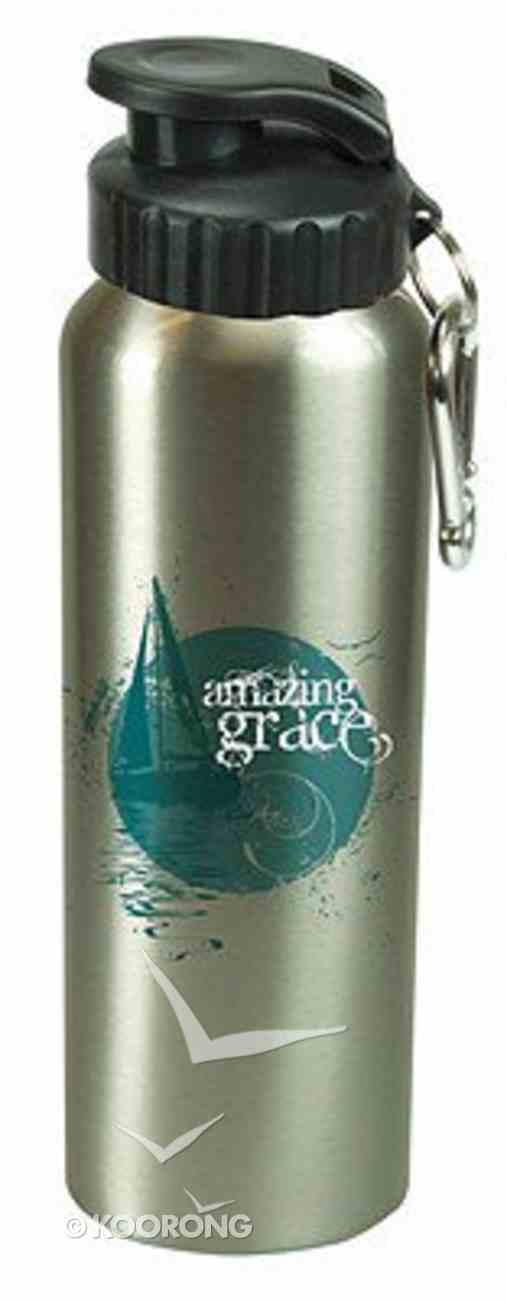 Water Bottle 750ml Stainless Steel: Amazing Grace (Hand Wash Only) Homeware