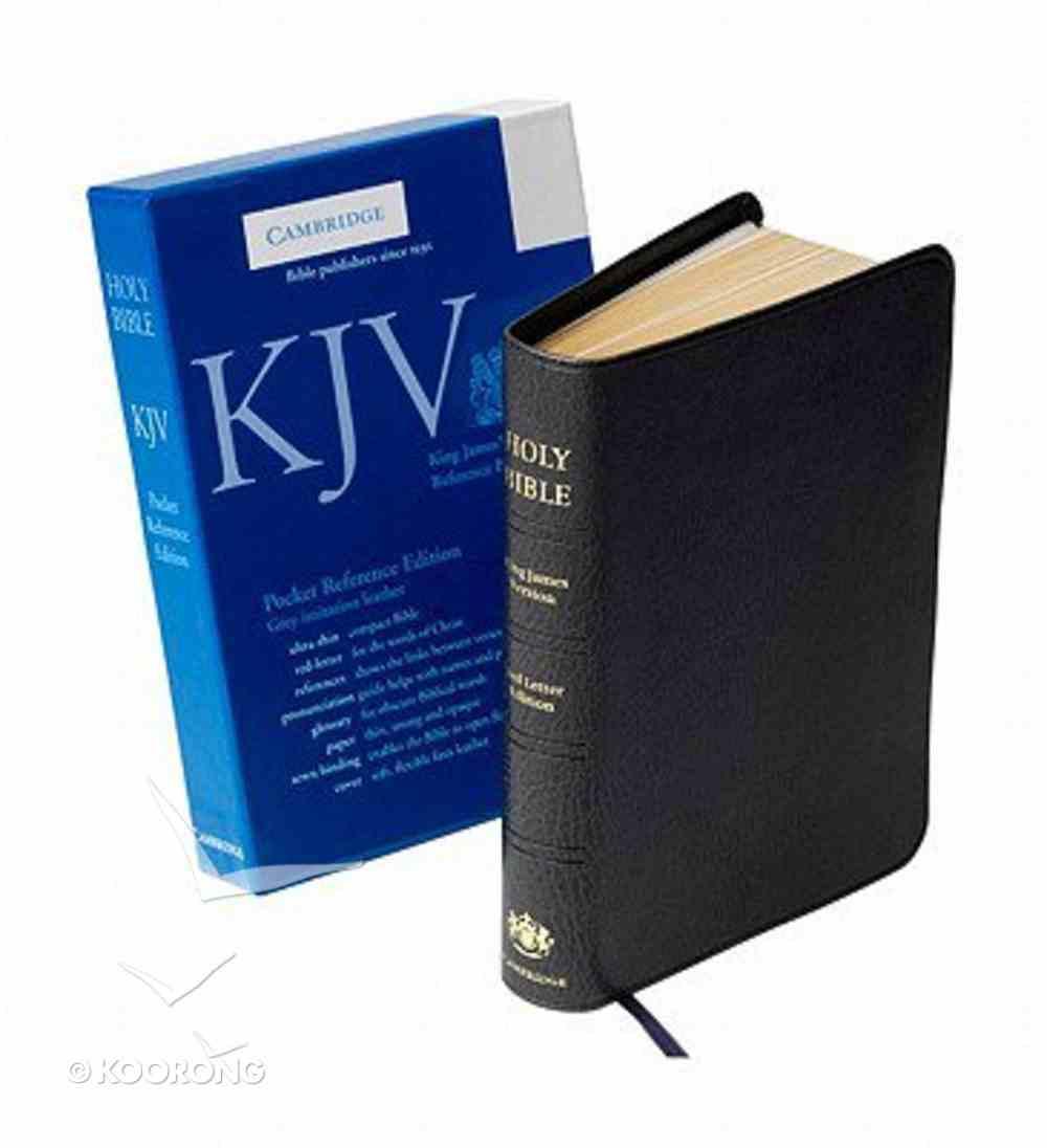 KJV Pocket Reference Gray (Red Letter Edition) Imitation Leather