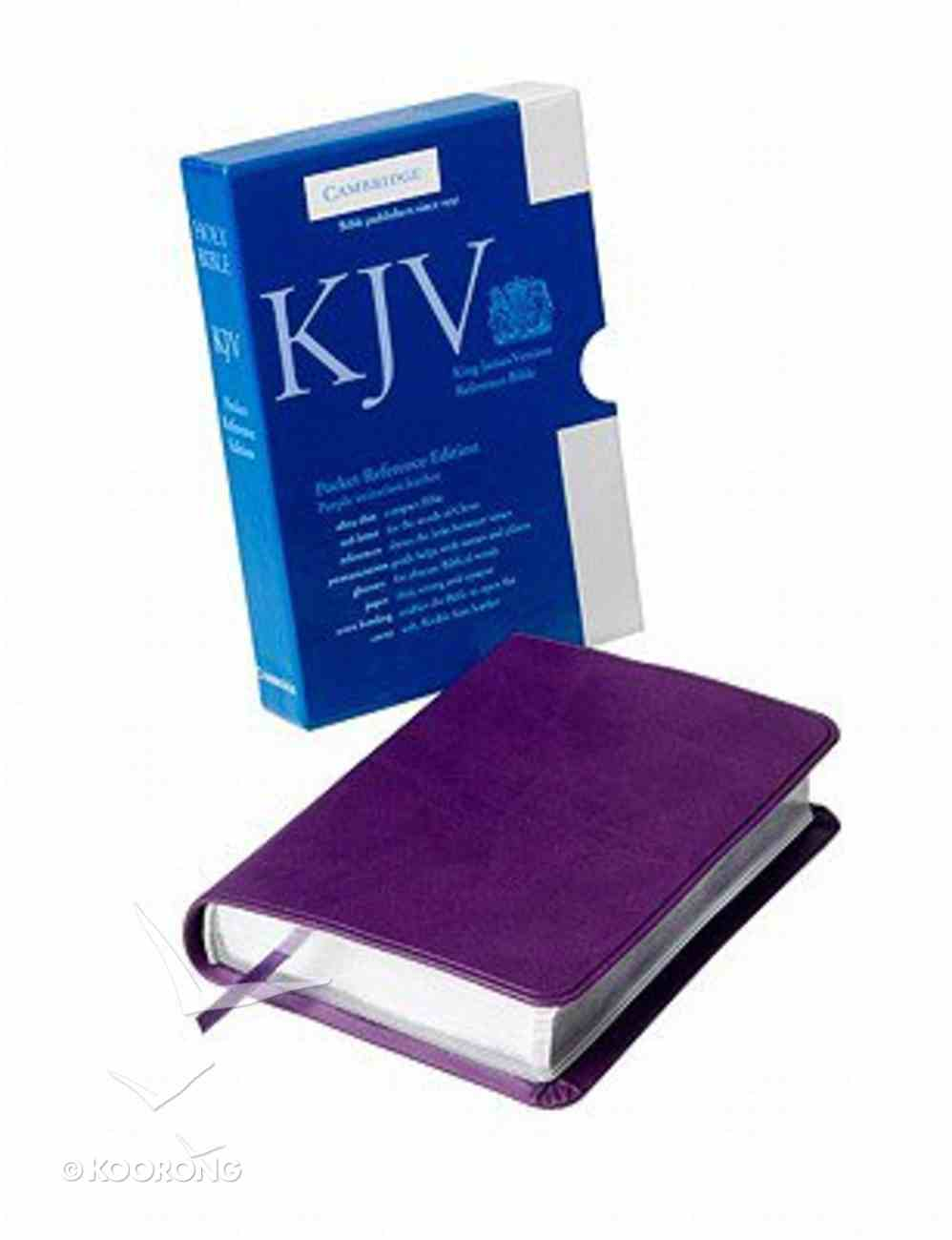 KJV Pocket Reference Purple (Red Letter Edition) Imitation Leather