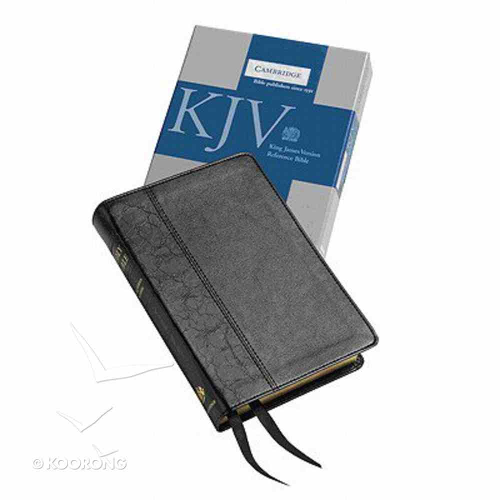 KJV Cameo Reference Black (Red Letter Edition) Imitation Leather