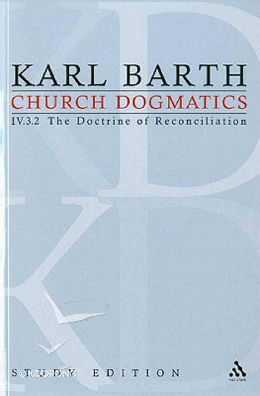 Jesus Christ, the True Witness II (Church Dogmatics Study Edition Series) Paperback