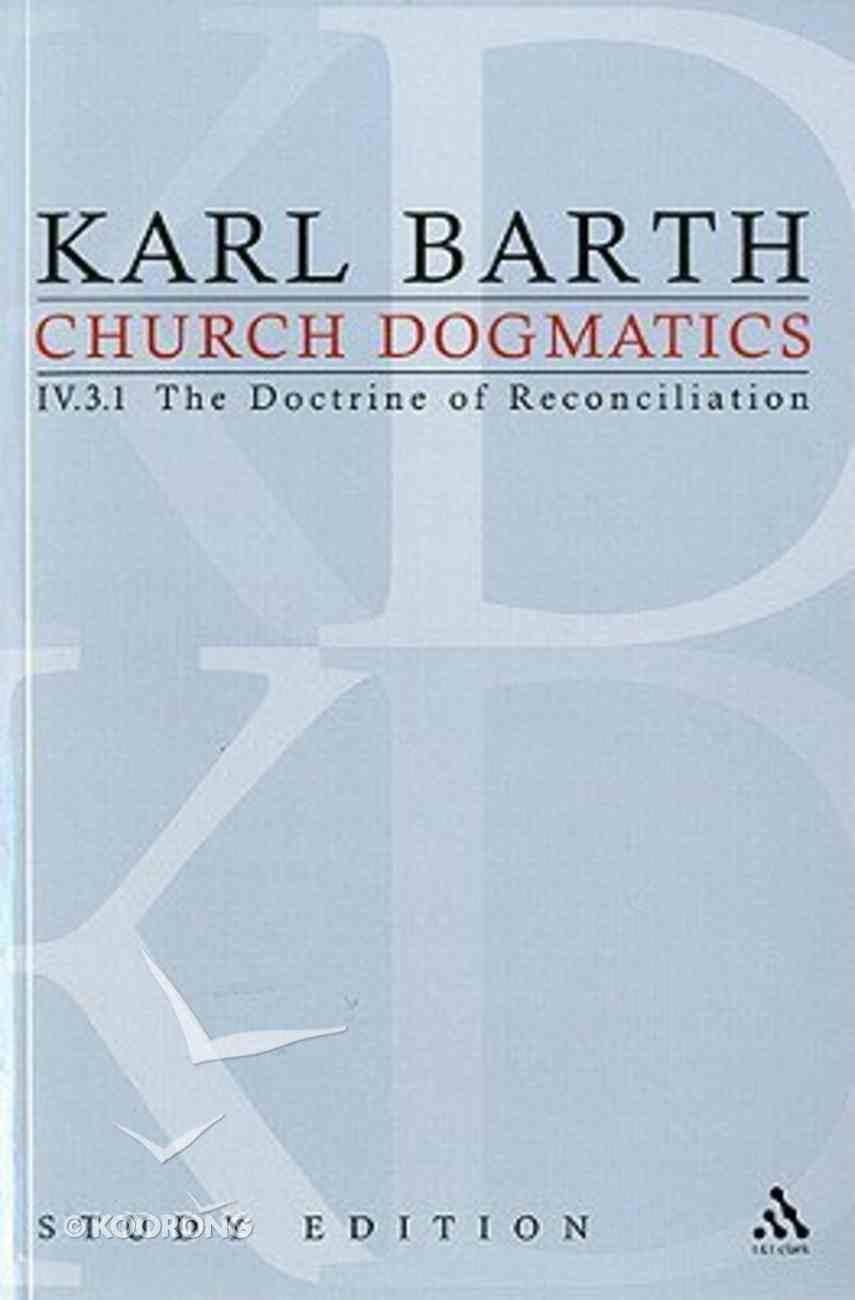 Jesus Christ, the True Witness I (Church Dogmatics Study Edition Series) Paperback