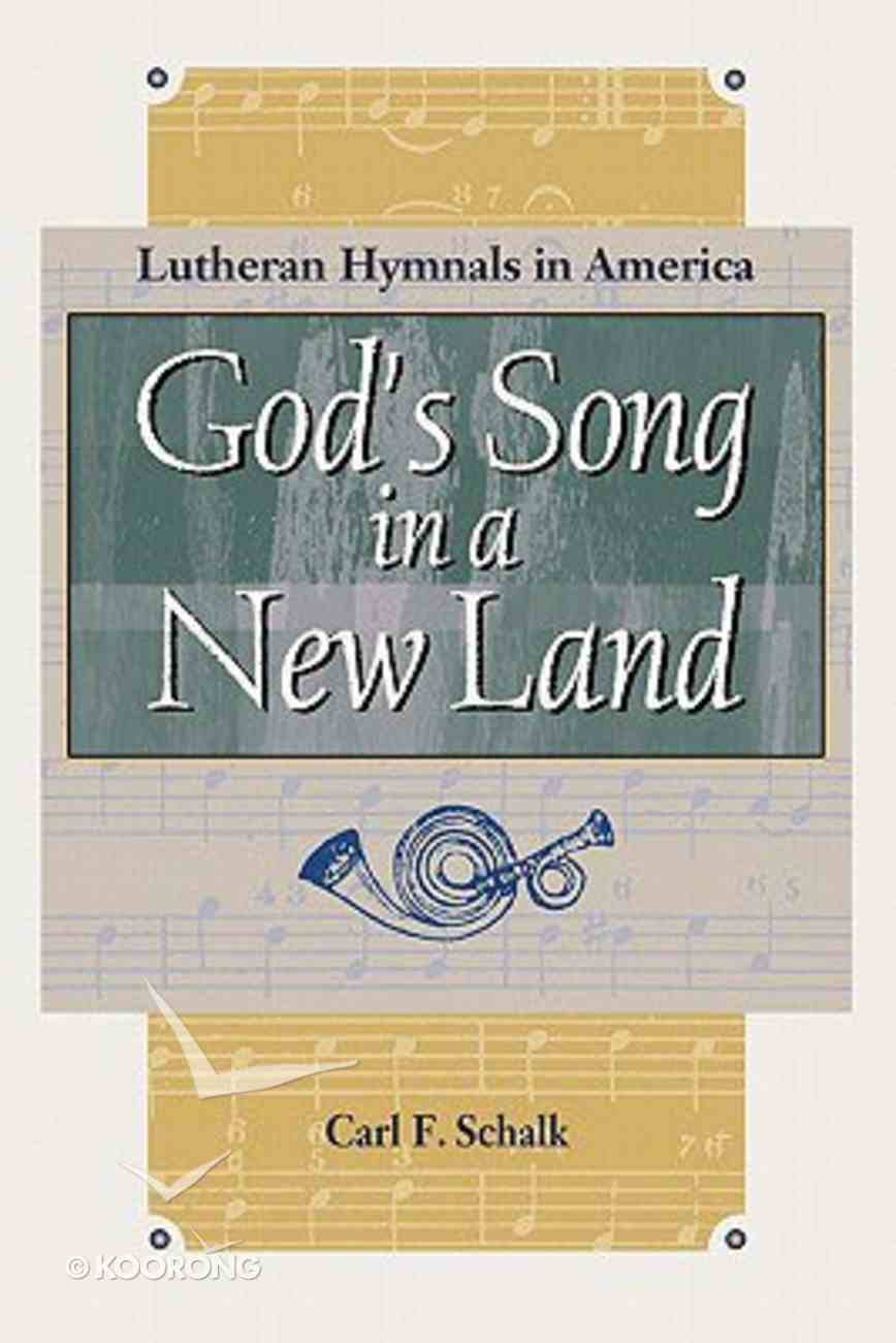 God's Song in a New Land Paperback