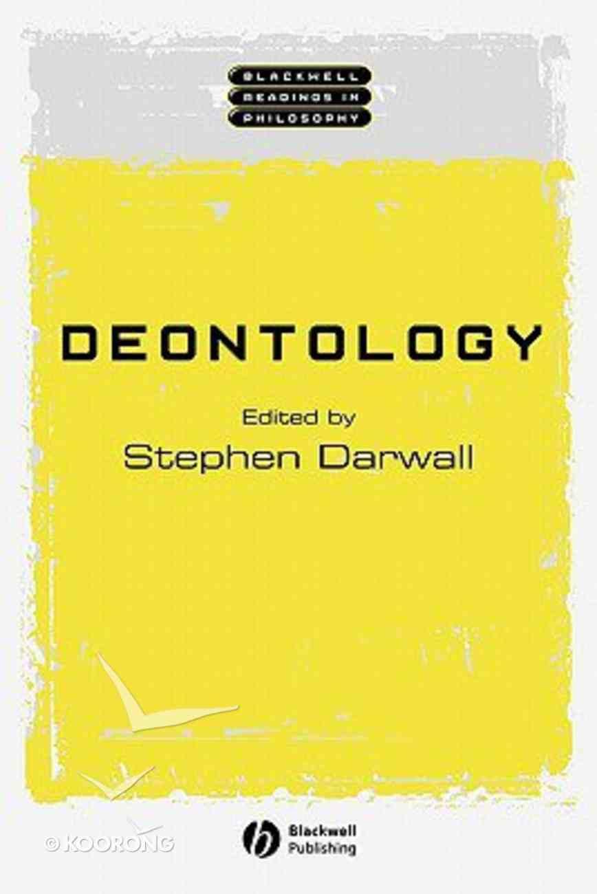 Deontology Paperback