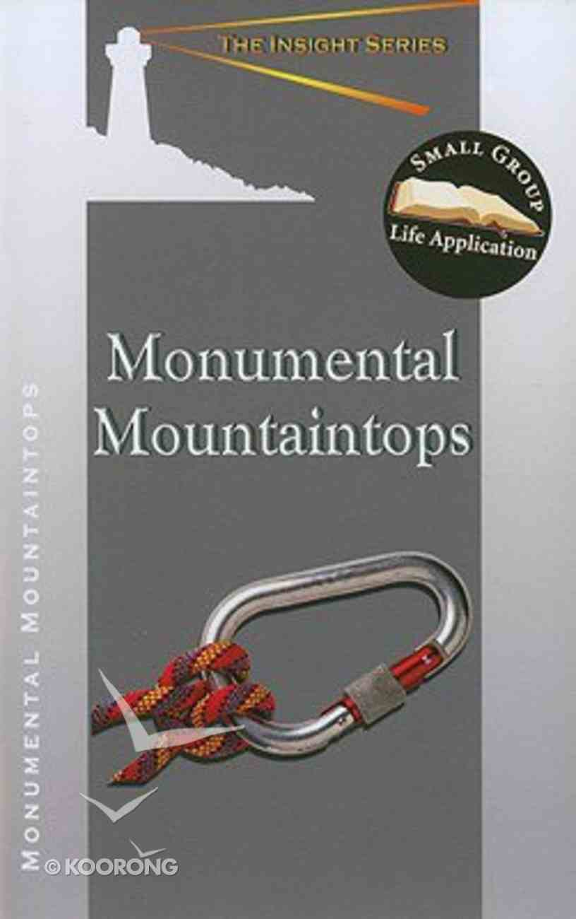 Monumental Mountaintops (Insight Series) Paperback