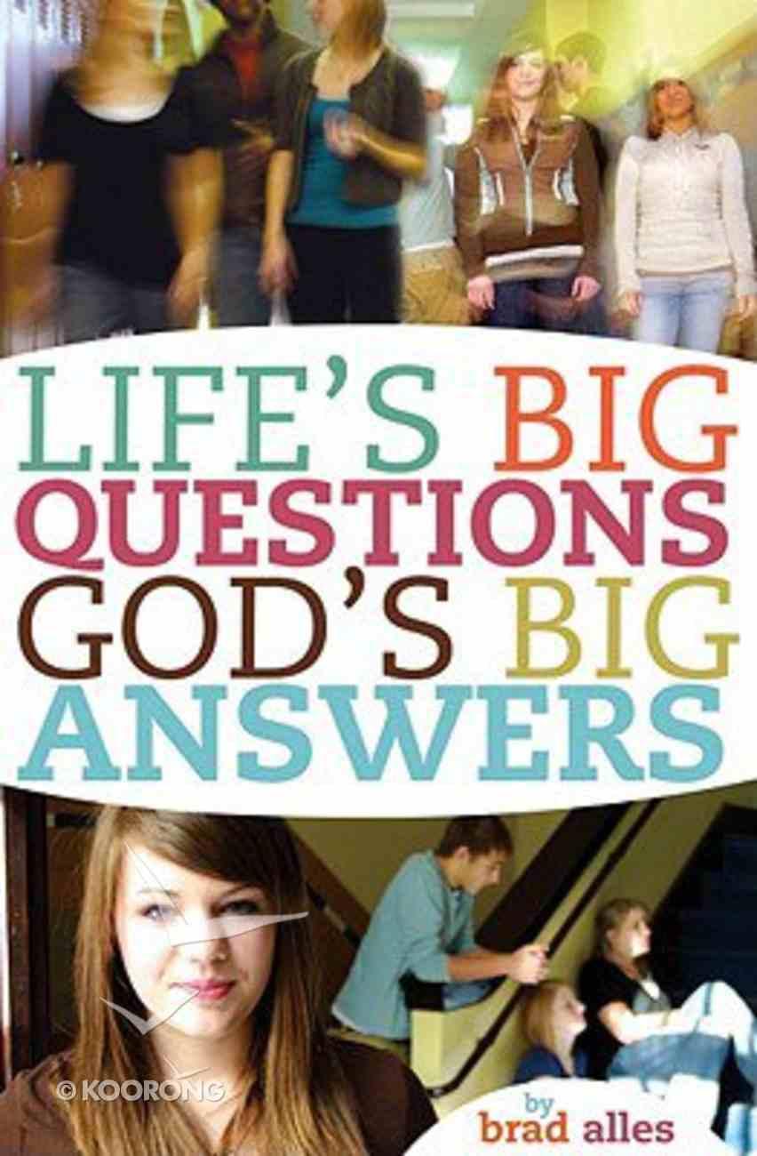 Life's Big Questions God's Big Answers Paperback