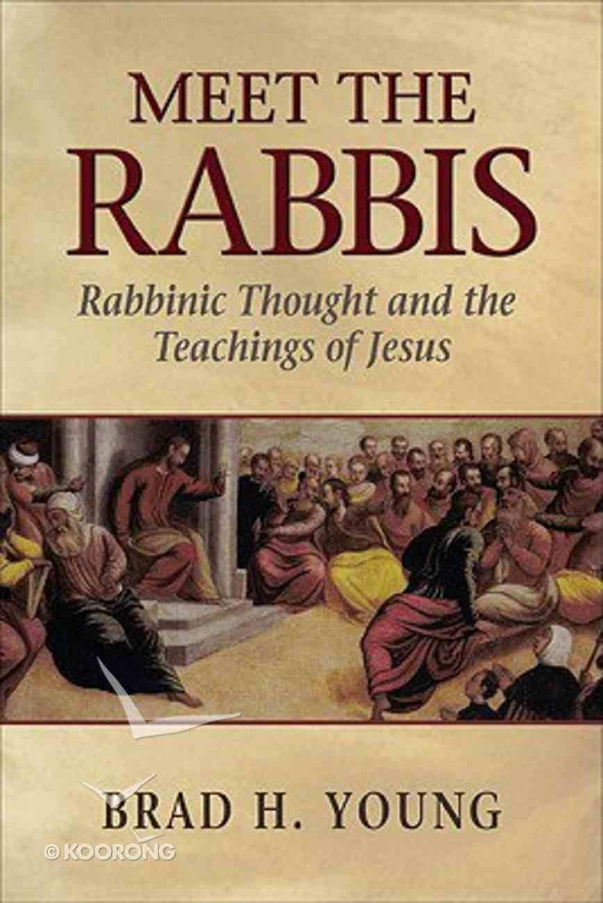 Meet the Rabbis Paperback