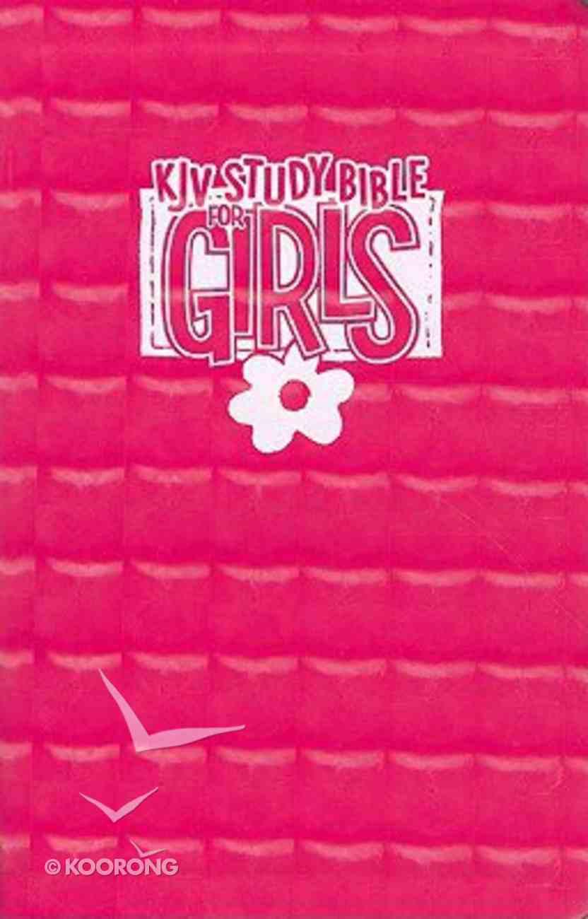KJV Bible Study For Girls Pink Prism (Red Letter Edition) Imitation Leather