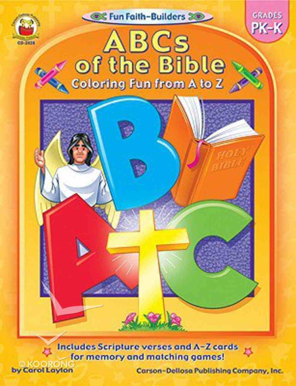 ABCS of the Bible (Fun Faith-builders Series) Paperback