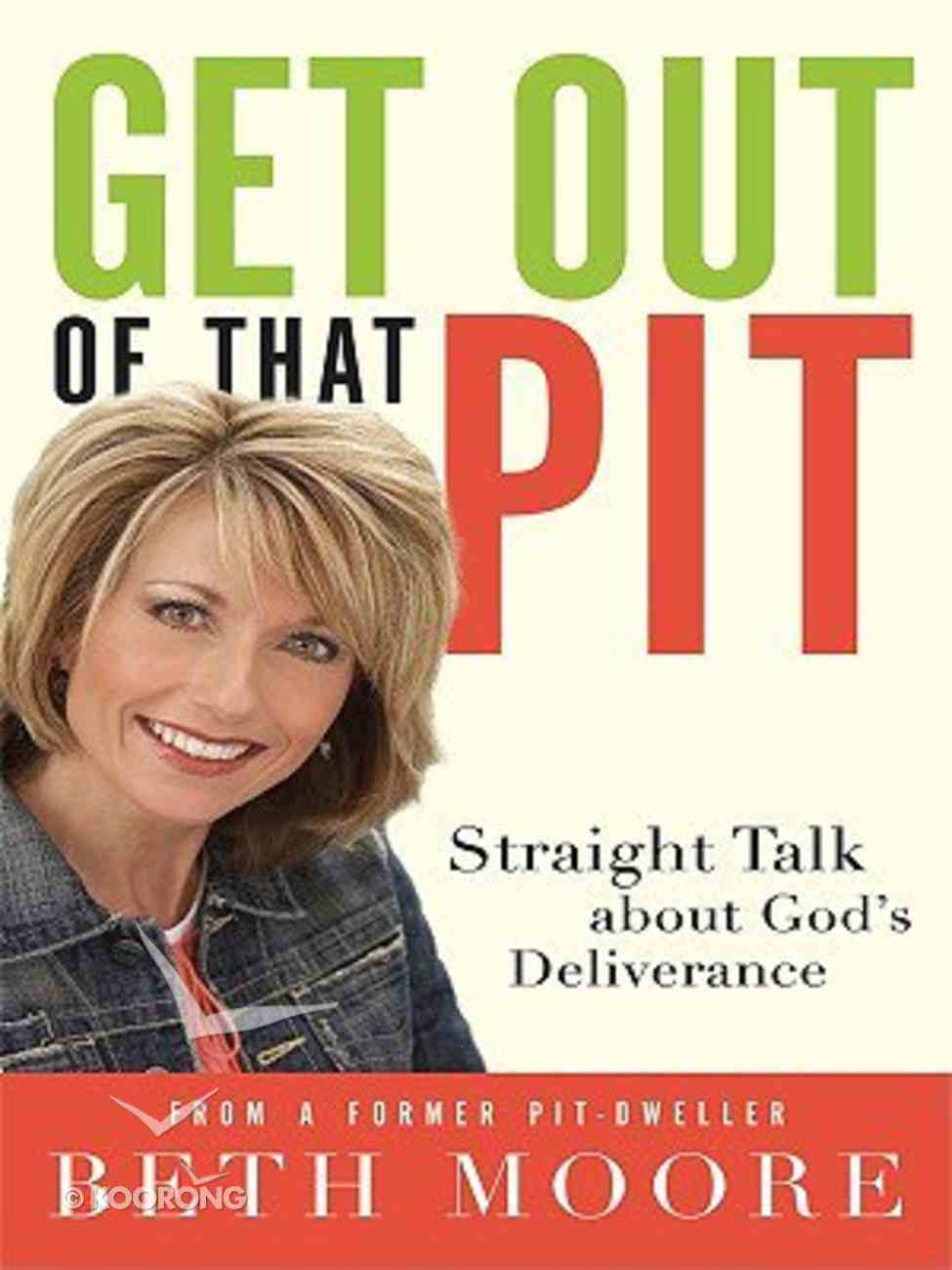 Get Out of That Pit (Large Print) Paperback