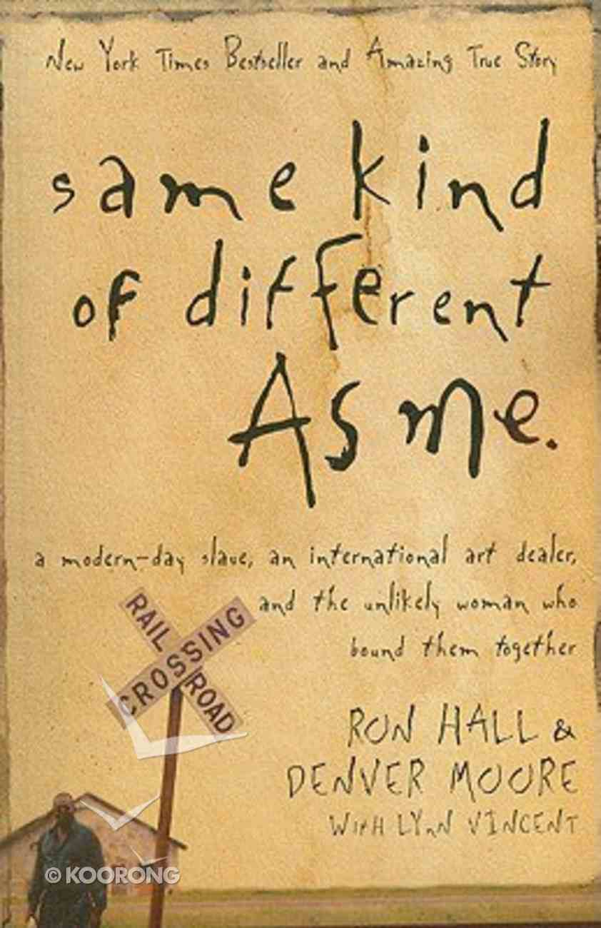 Same Kind of Different as Me (Large Print) Paperback