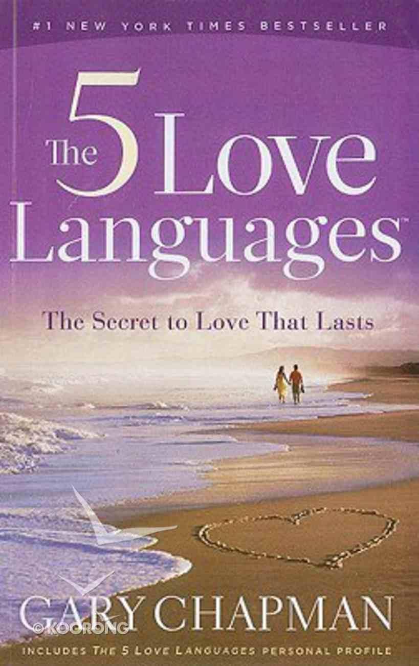 The Five Love Languages (Large Print) Paperback