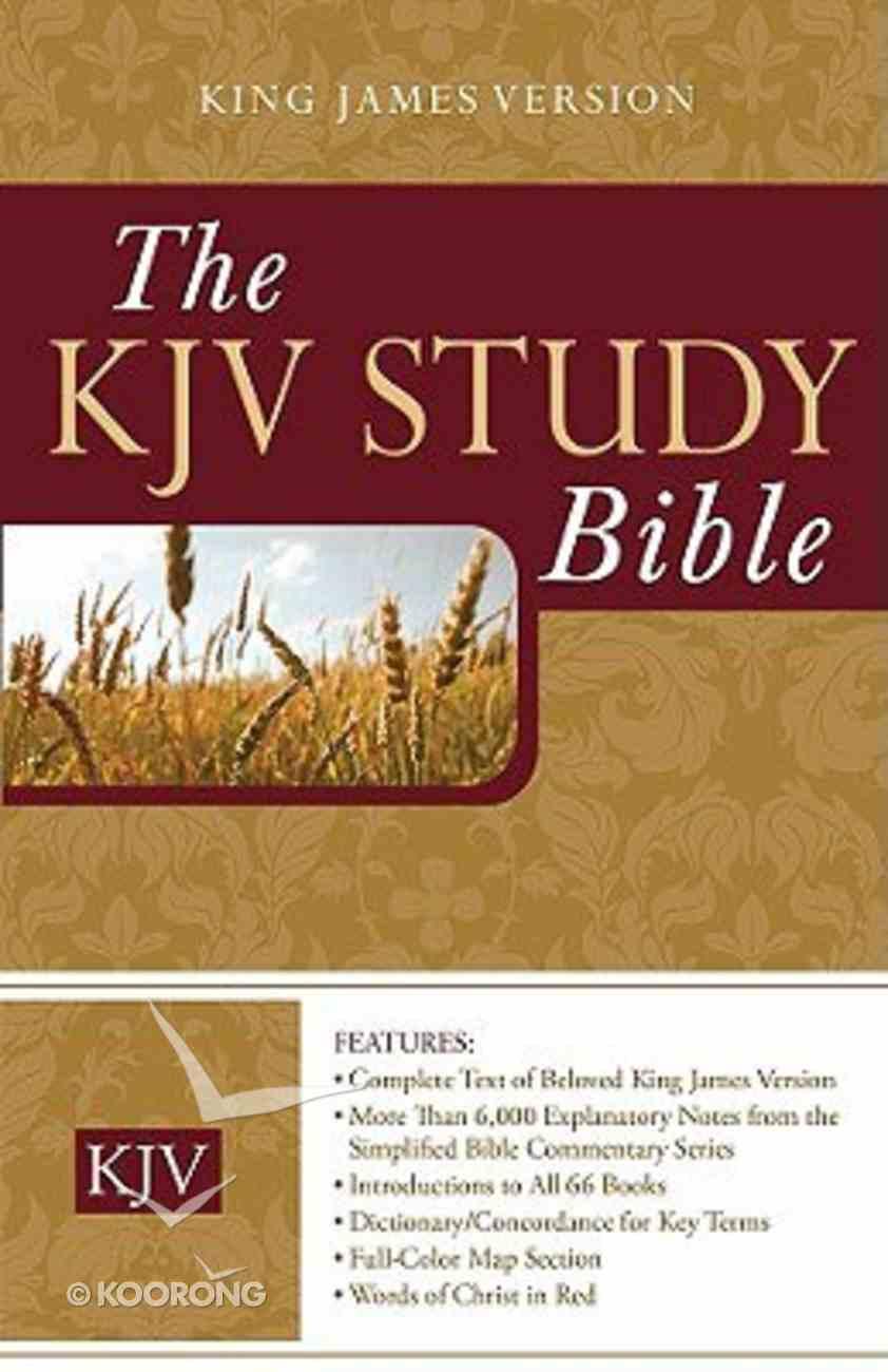 KJV Today's KJV Study Bible Hardback