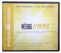 Album Image for Message Remix New Testament MP3 (Unabridged) - DISC 1