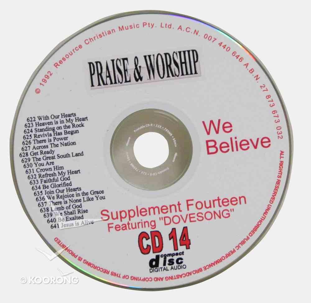 Rcm Volume C: Supplement 14 We Believe (2 Cds) (623-641) CD