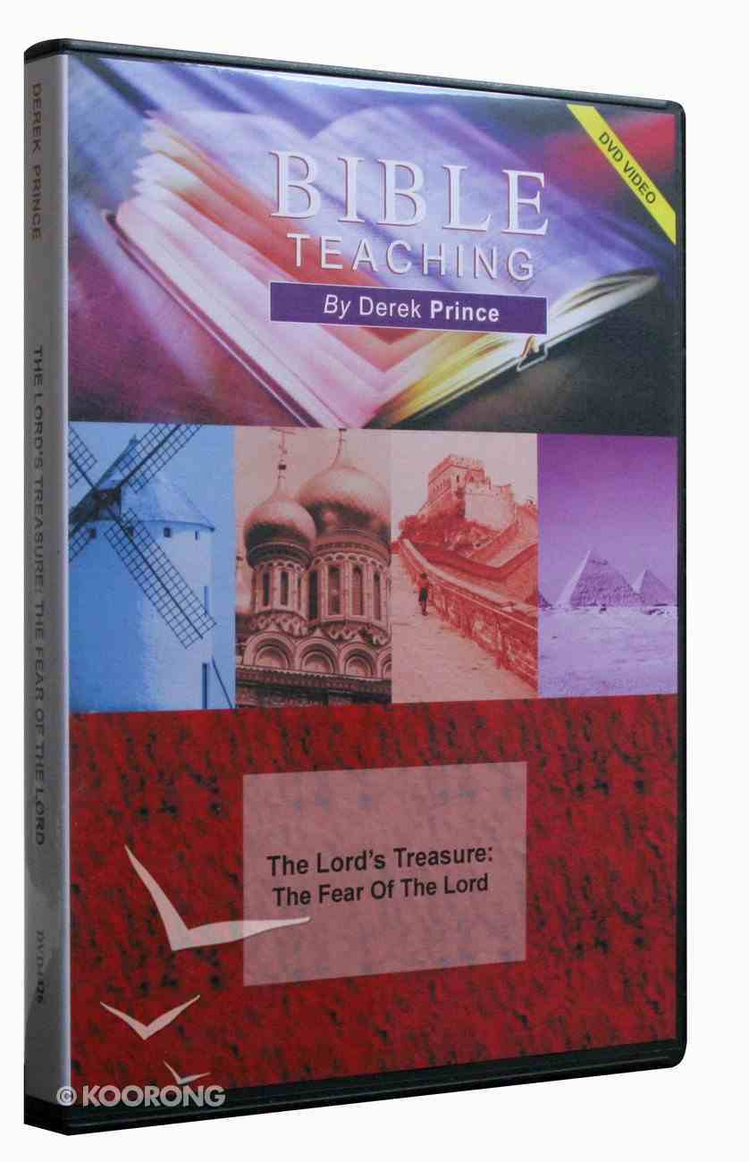 The Lord's Treasure: The Fear of the Lord DVD
