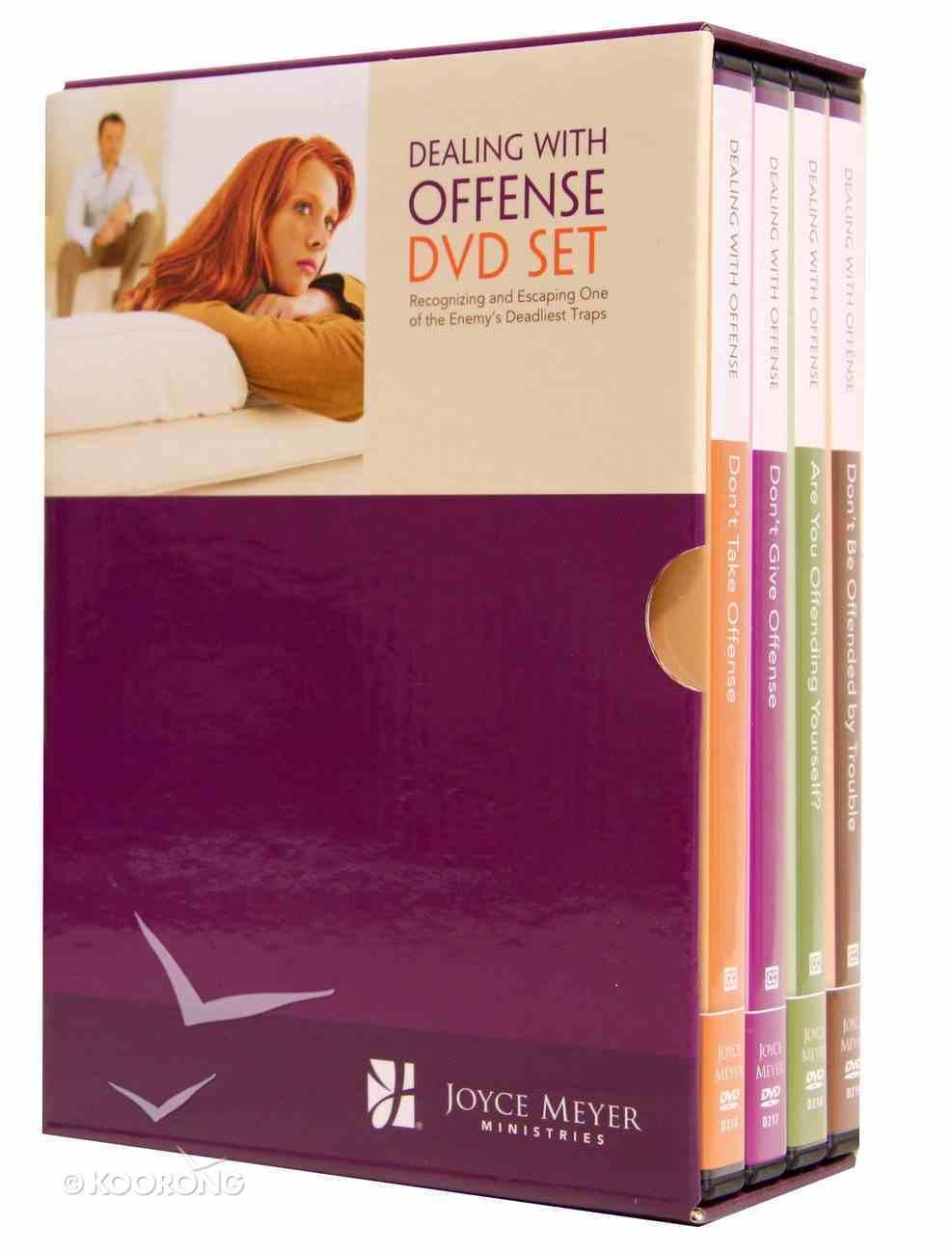 Dealing With Offense (4 Dvd Set) DVD
