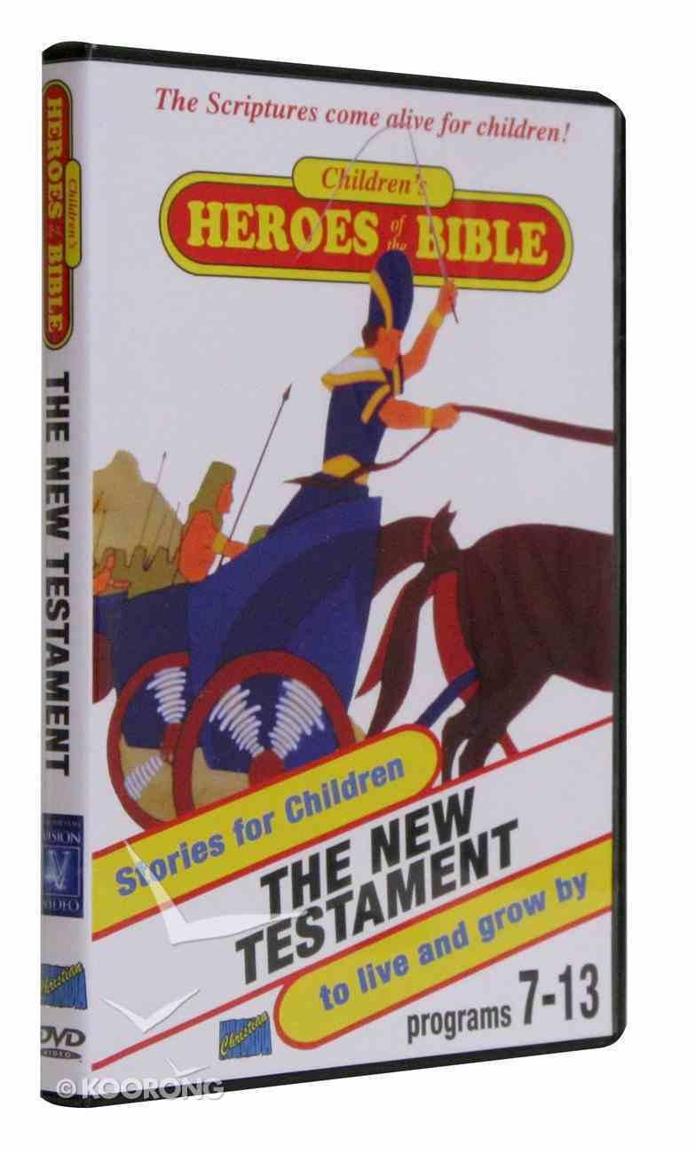 Children's Heroes of the Bible: New Testament DVD