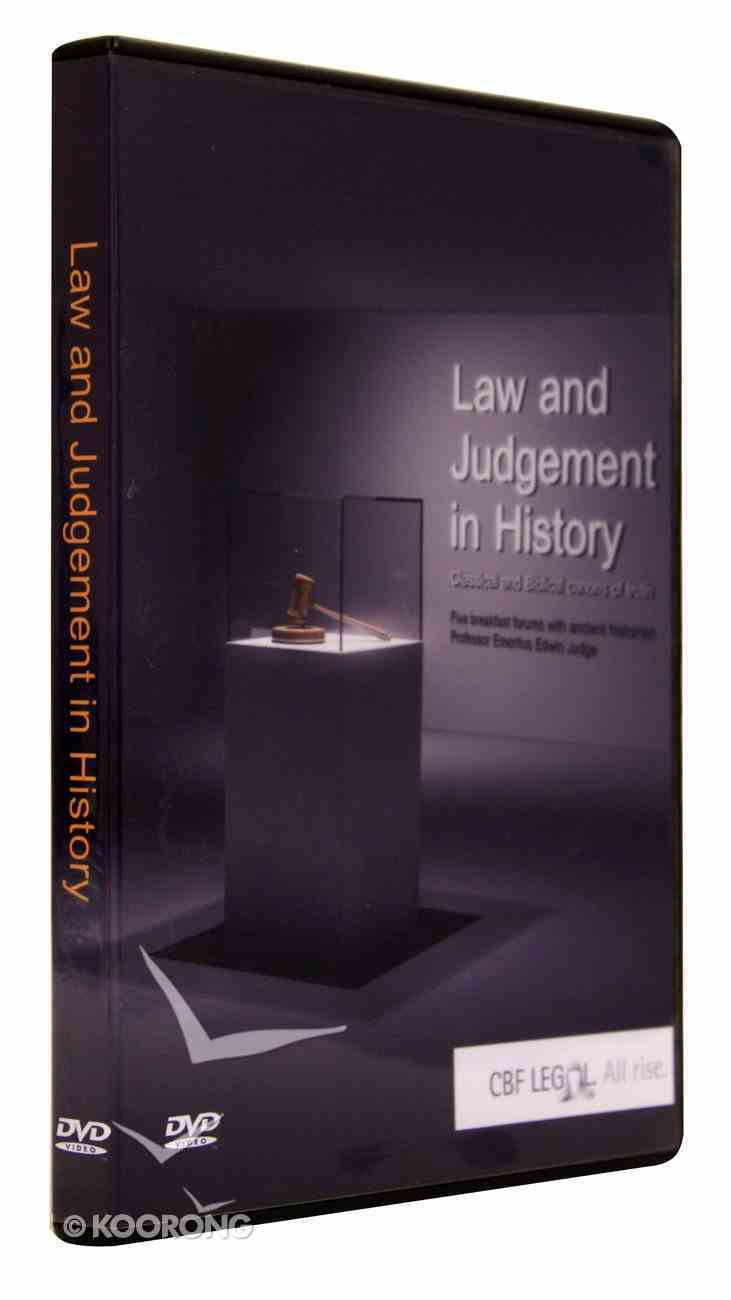 Law and Judgement in History DVD