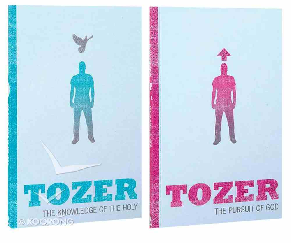 Tozer Classics: 2-Pack (Knowledge Of The Holy + Pursuit Of God) Pack