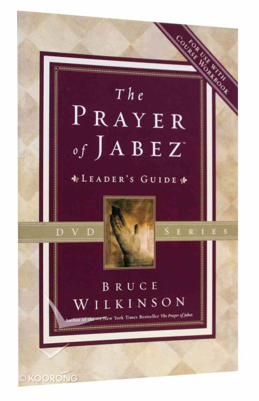 The Prayer of Jabez (Leader's Guide) Paperback