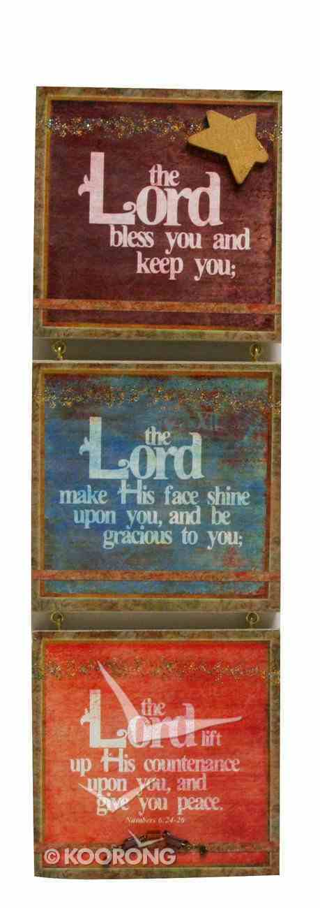You're My Star 3 Tier Mdf Plaque: Lord, Lord, Lord Plaque