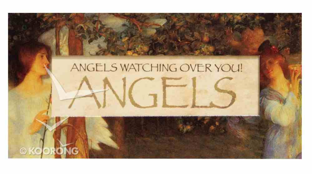 Easeled Magnet: Angels Watching Over You! Novelty