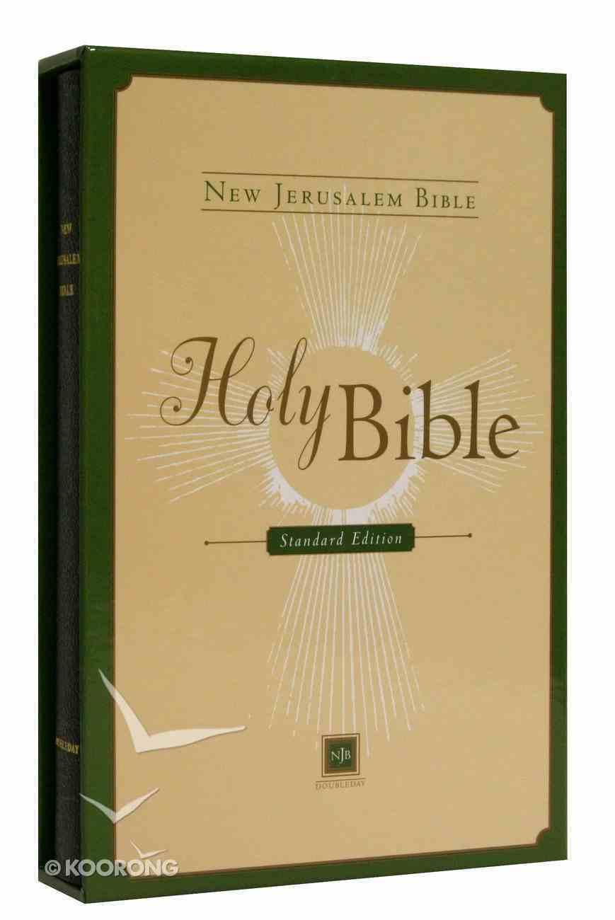 New Jerusalem Bible Standard Black With Slipcase Bonded Leather