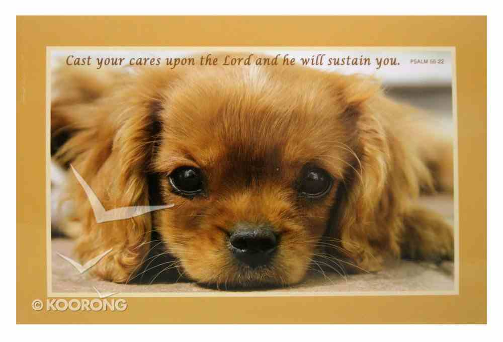 Poster Small: Cast Your Cares Upon the Lord Poster