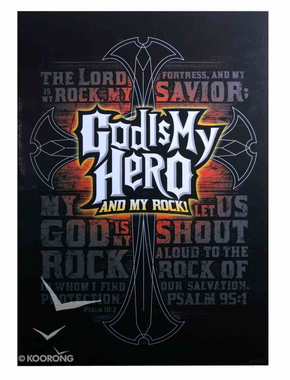 Poster Large: God is My Hero Poster