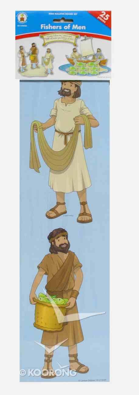 Mini Bulletin Boards: Fishers of Men (Matthew 4:19 Header) Chart/card
