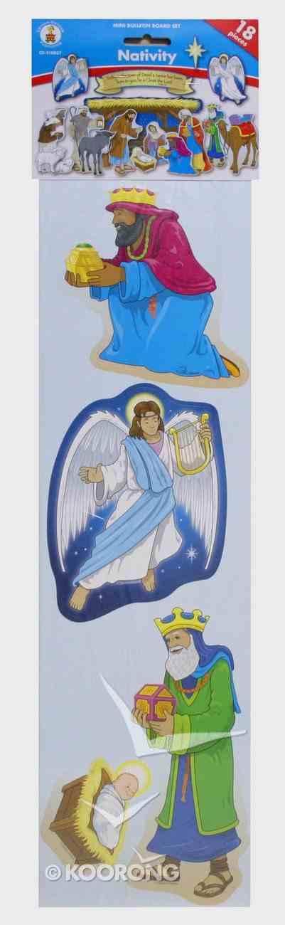 Mini Bulletin Boards: Nativity (Luke 2:11 Header) Chart/card