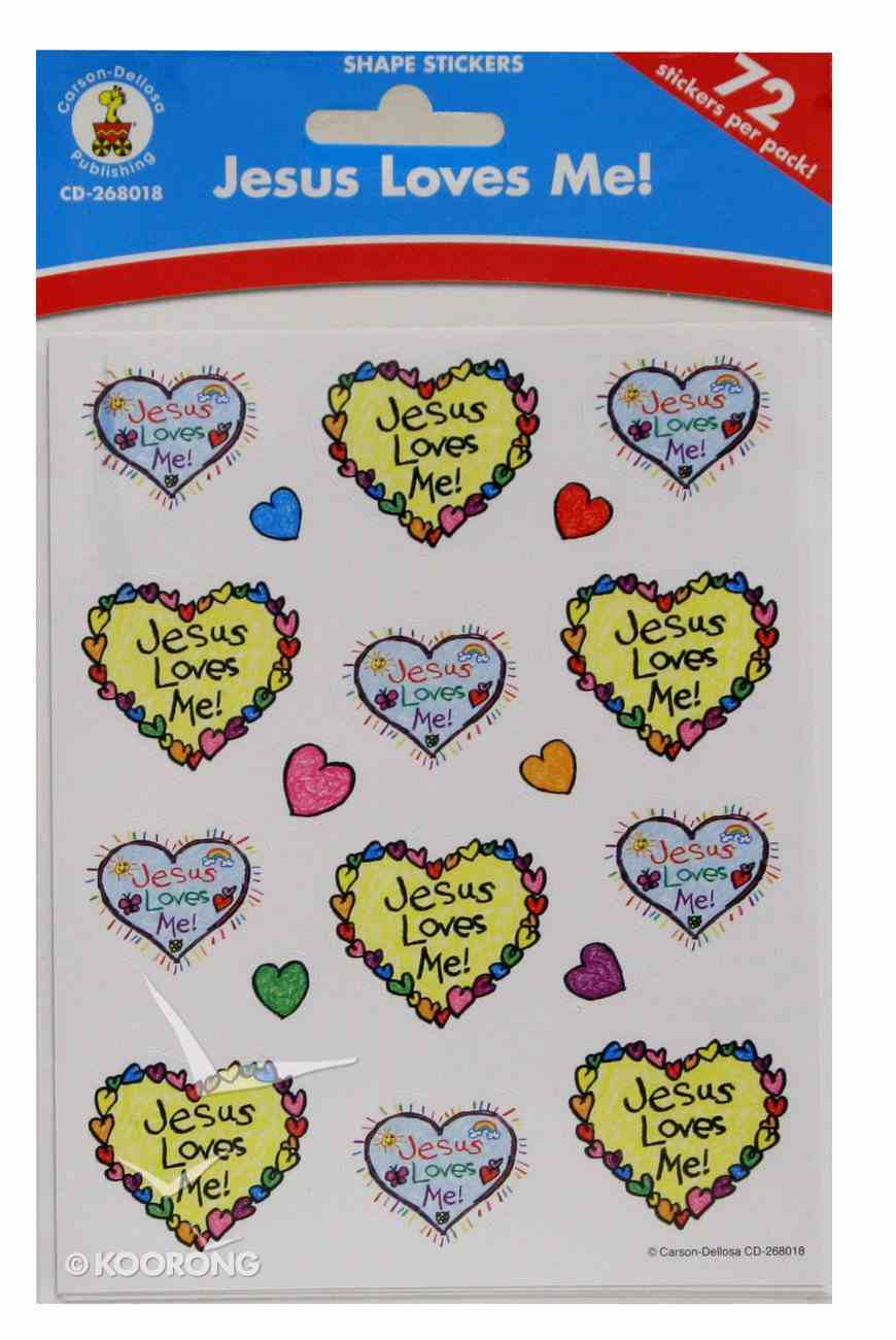 Sticker Pack: Jesus Loves Me! Kid-Drawn Novelty