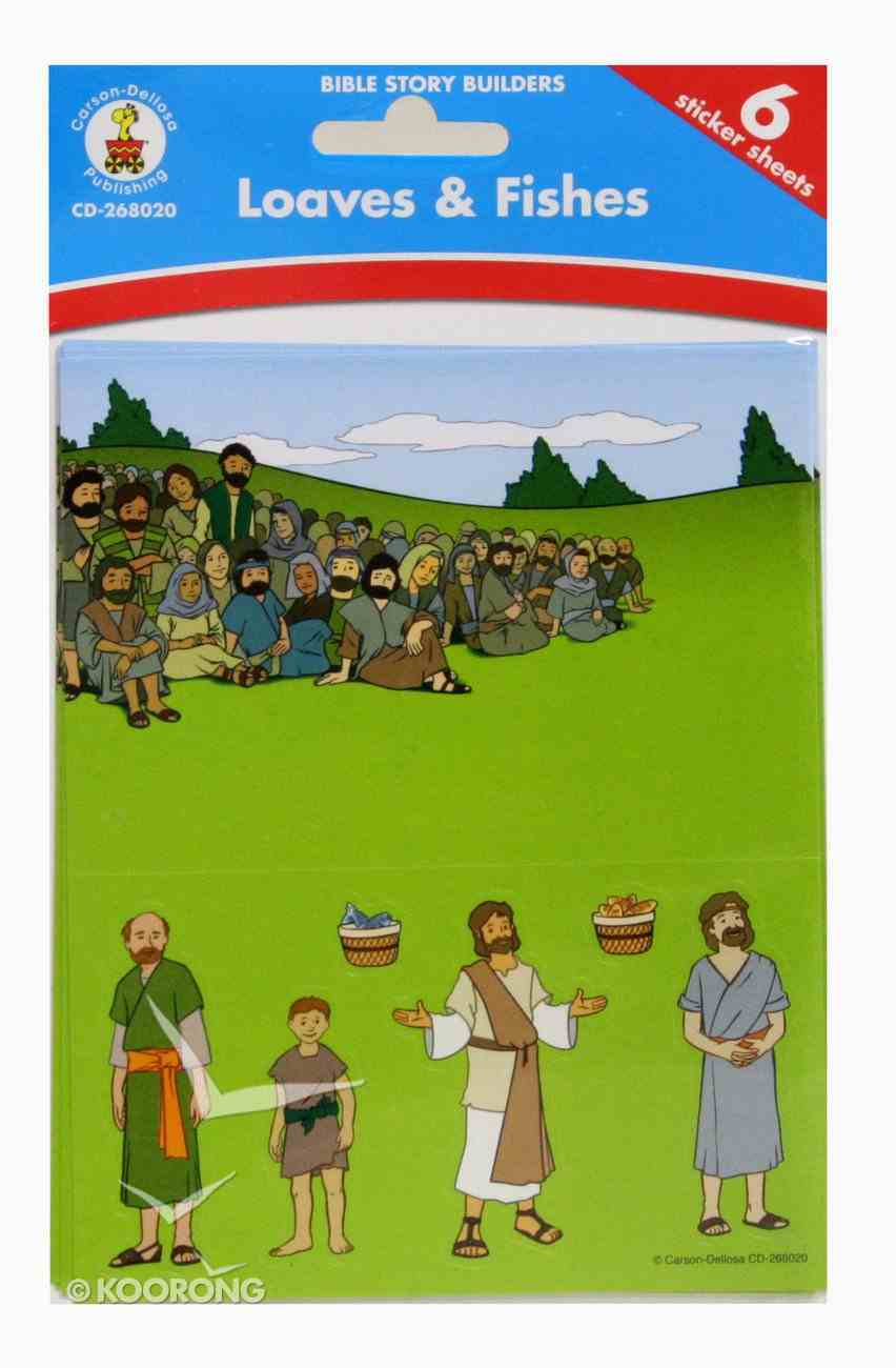 Bible Story Builders: Loaves and Fishes Stickers Pack