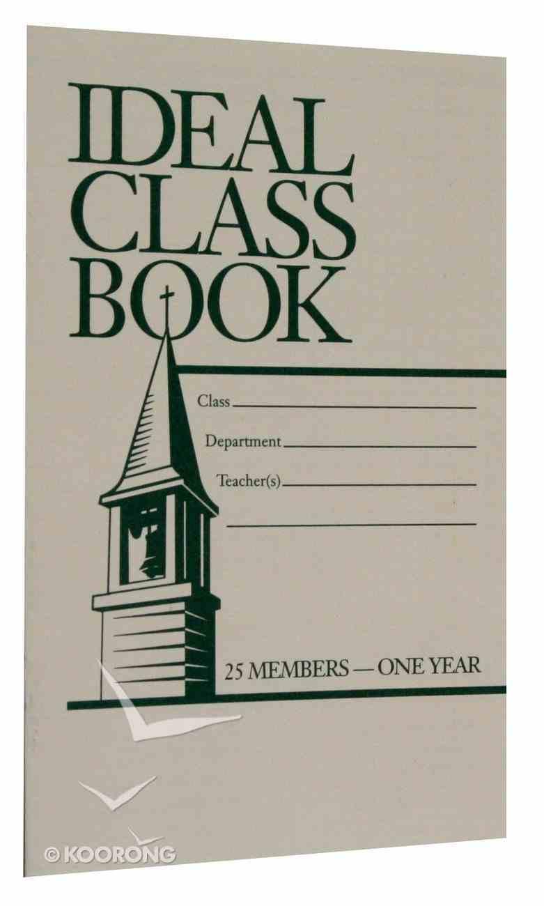 Ideal Class Book: Attendance (25 Names) Booklet