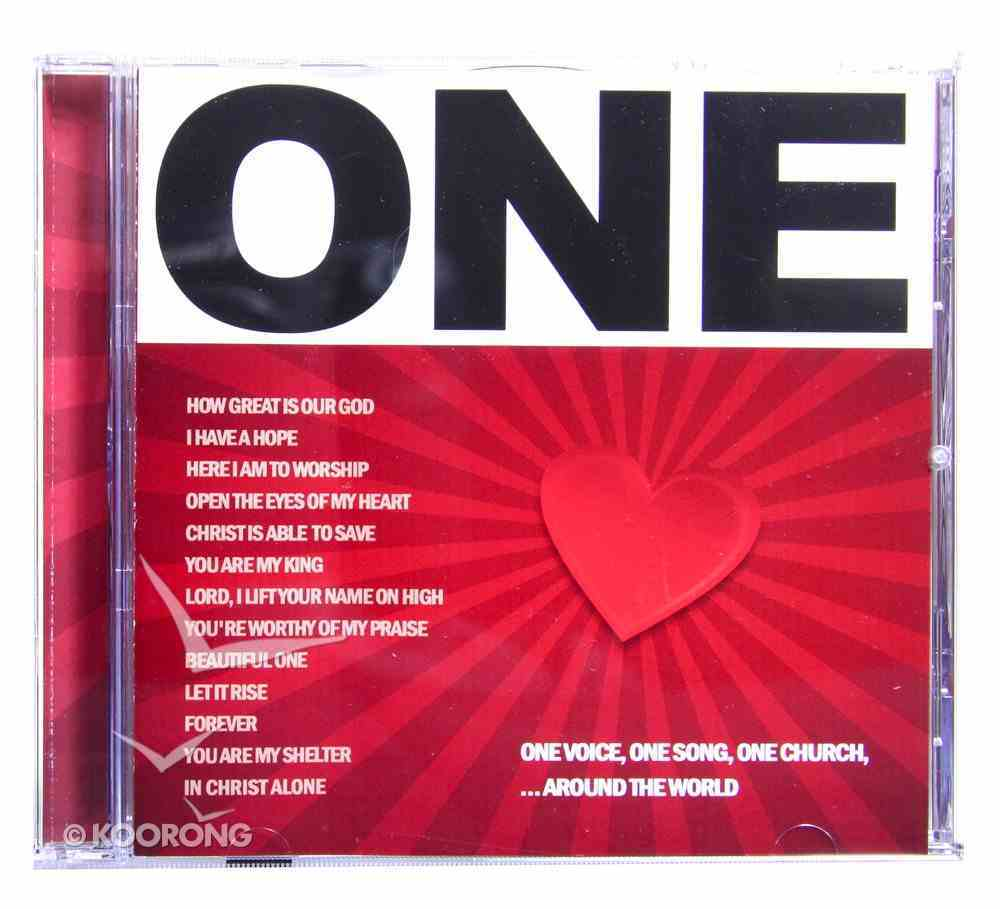 One - Top Praise and Worship Songs CD