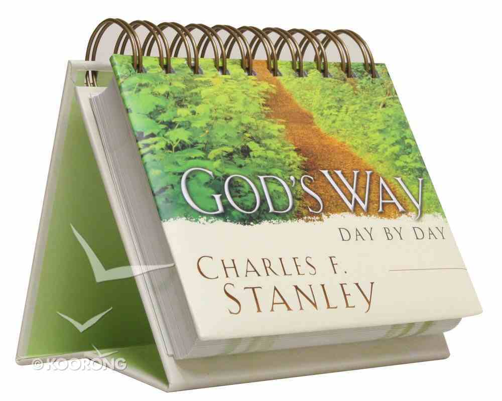 Daybrighteners: God's Way Day By Day (Padded Cover) Spiral