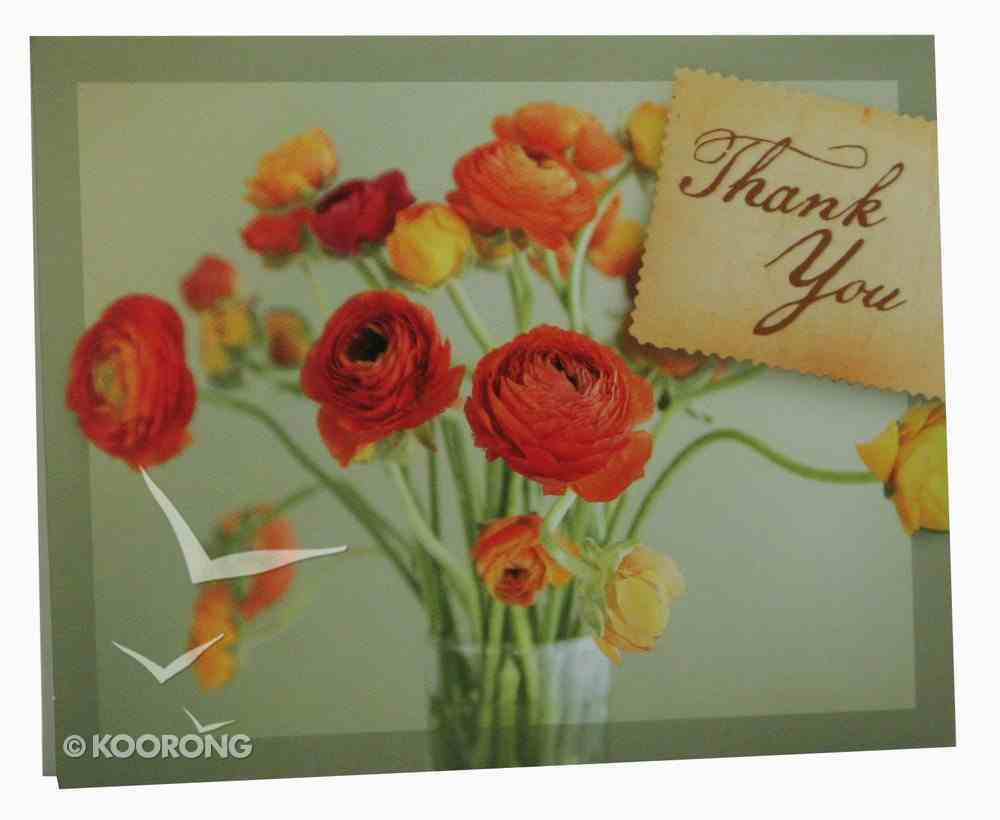Everyday Notes: Flowers - Thank You, Luke 6:38 Paperback
