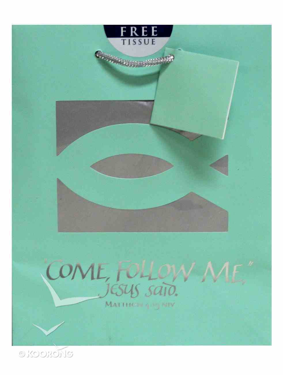Gift Bag Medium: Come Follow Me (Incl Tissue) Stationery