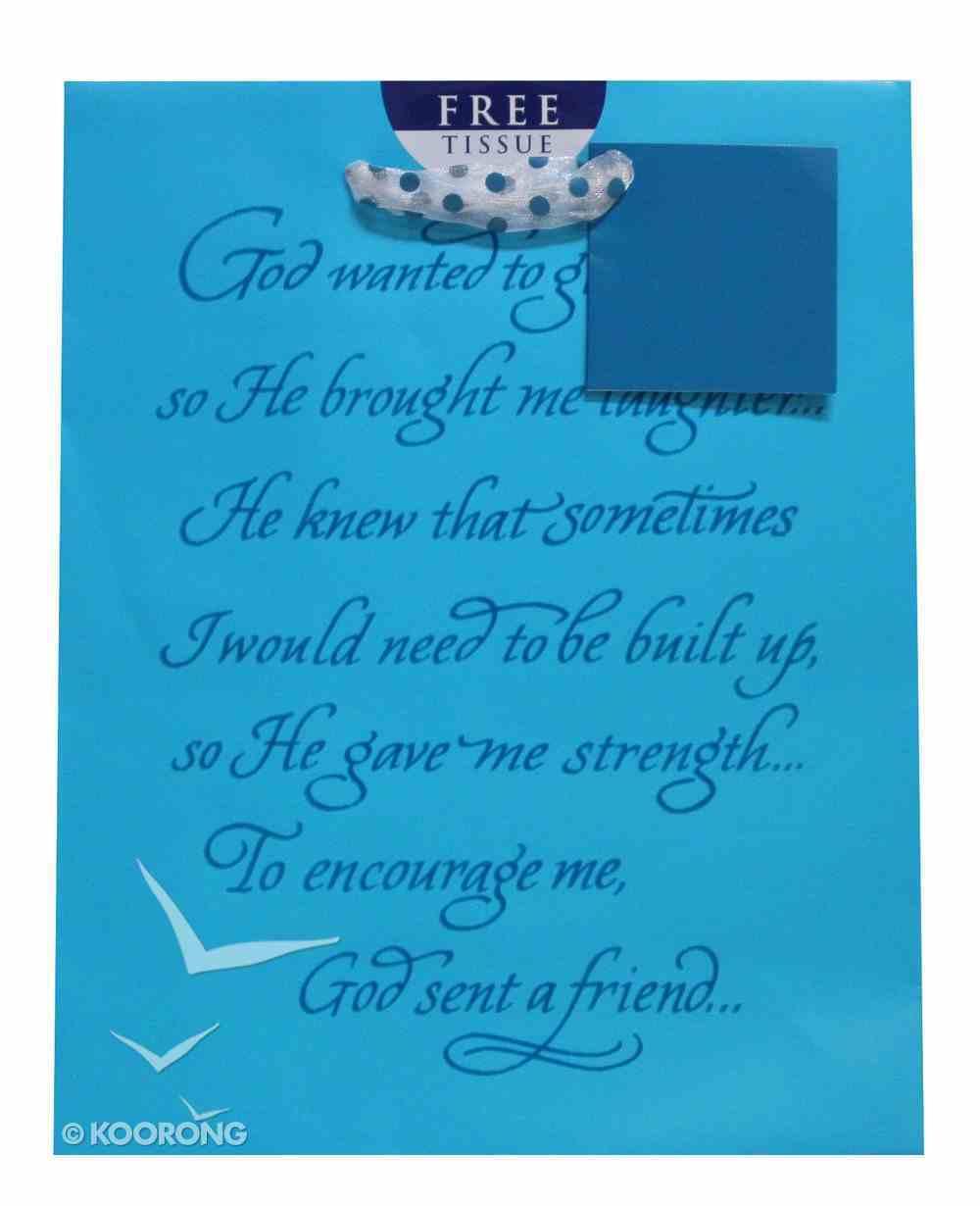 Gift Bag Medium: Elegant Feminine Psalm 128:5 (Incl Tissue) Stationery