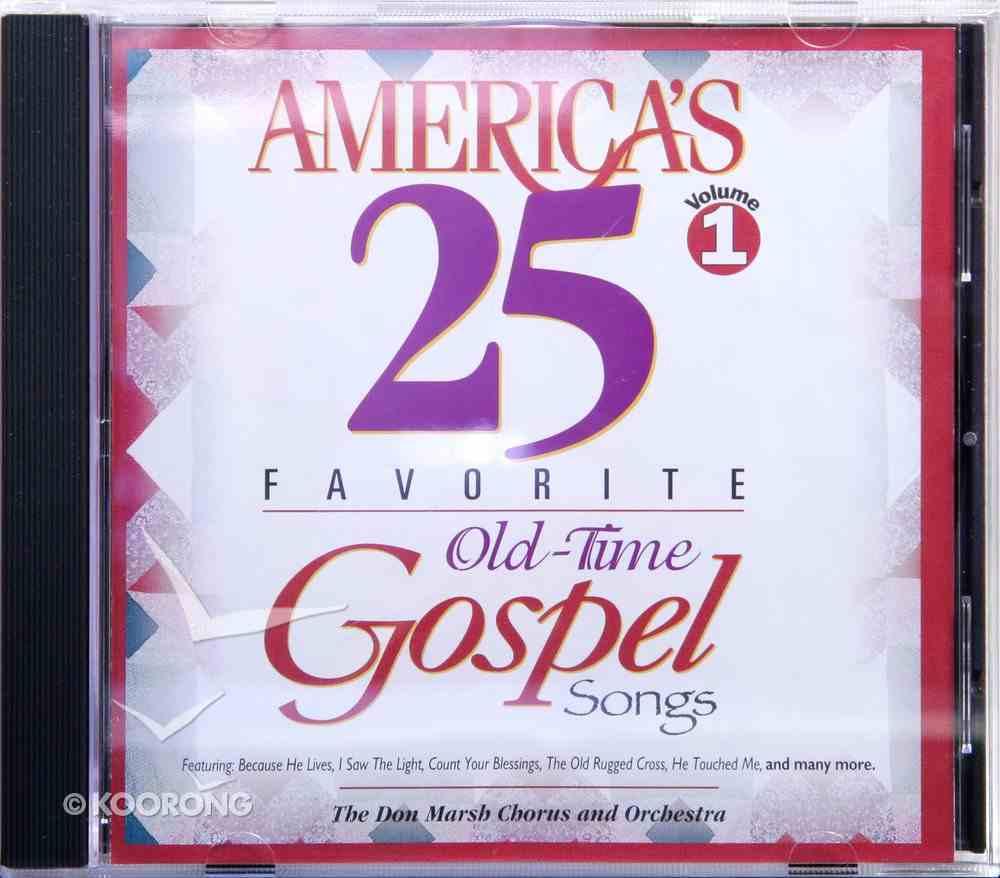 America's 25 Favorite Gospel 1 CD