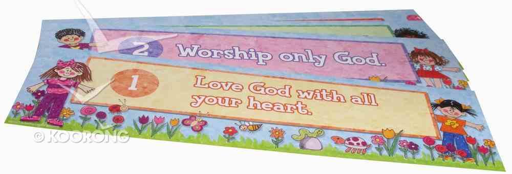 Headliners: Ten Commandments Chart/card
