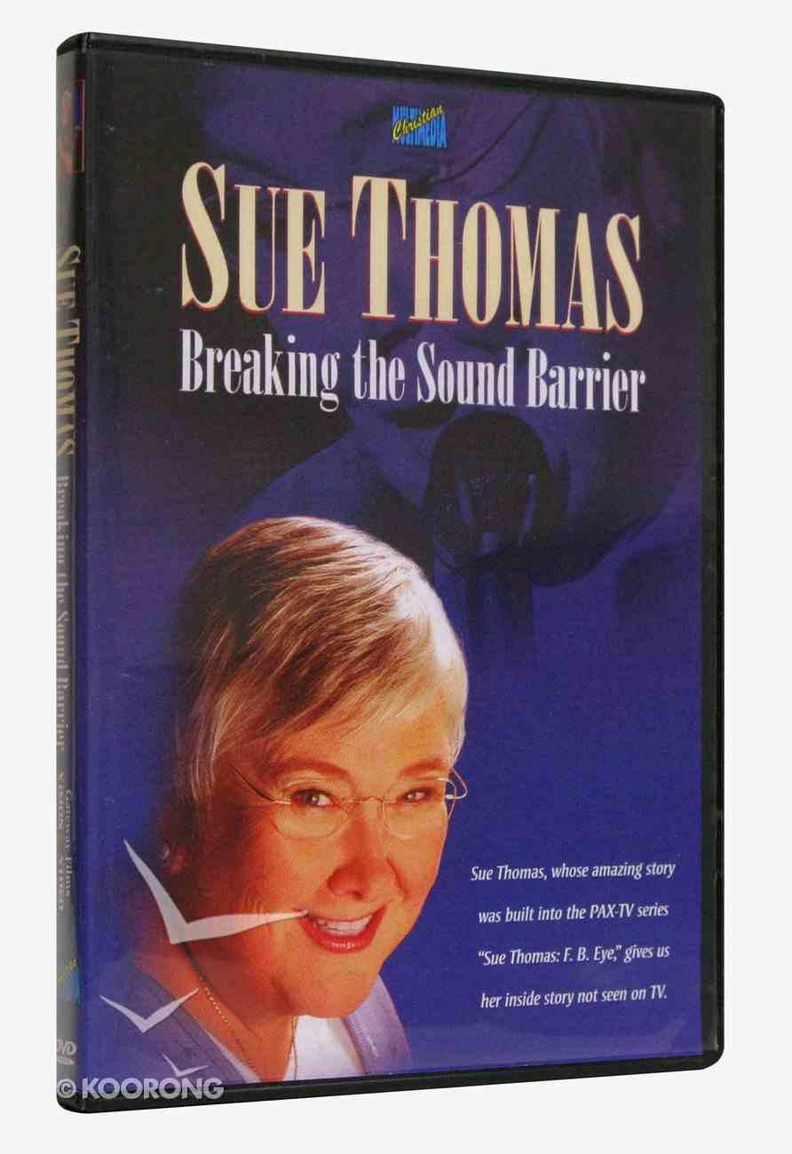 Sue Thomas: Breaking the Sound Barrier DVD