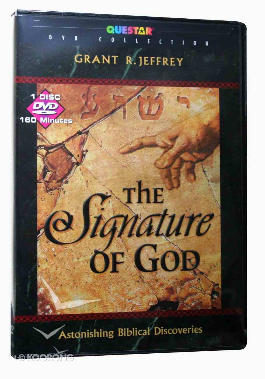 The Signature of God DVD