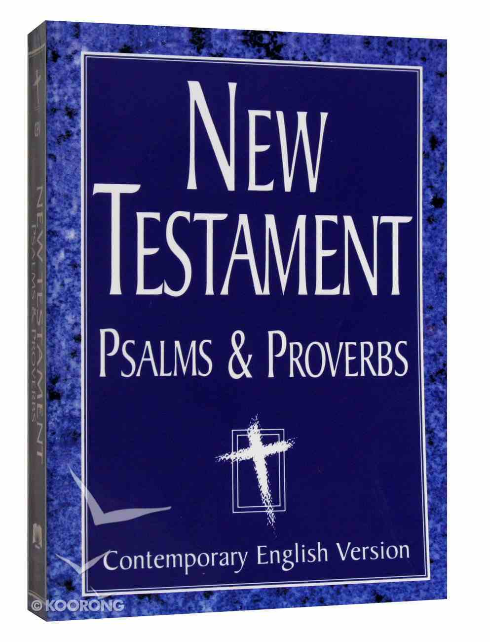 CEV Large Print New Testament With Psalms & Proverbs Paperback